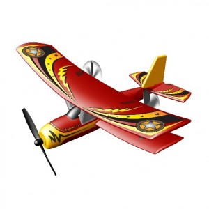 Afstandbestuurbare vliegtuig