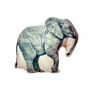 Kussen met olifant