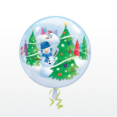 Winter wonderland ballon