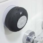 Speaker voor in de badkamer