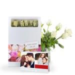 Bloemen in de brievenbus