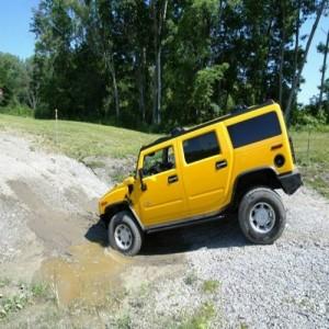 Leuke belevenis met een Hummer