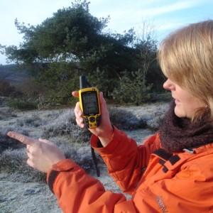 Wandelen met een GPS
