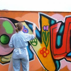 Cadeaubon graffiti workshop