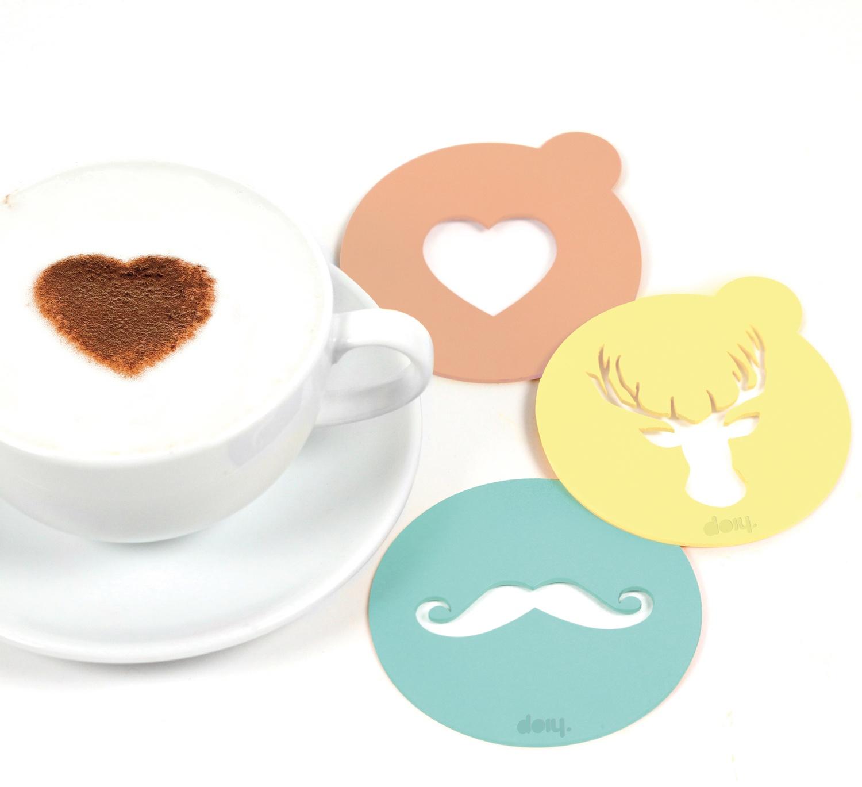 Vormpjes voor cappuccino