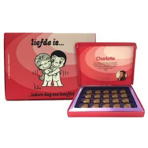 Liefde is chocoladebox