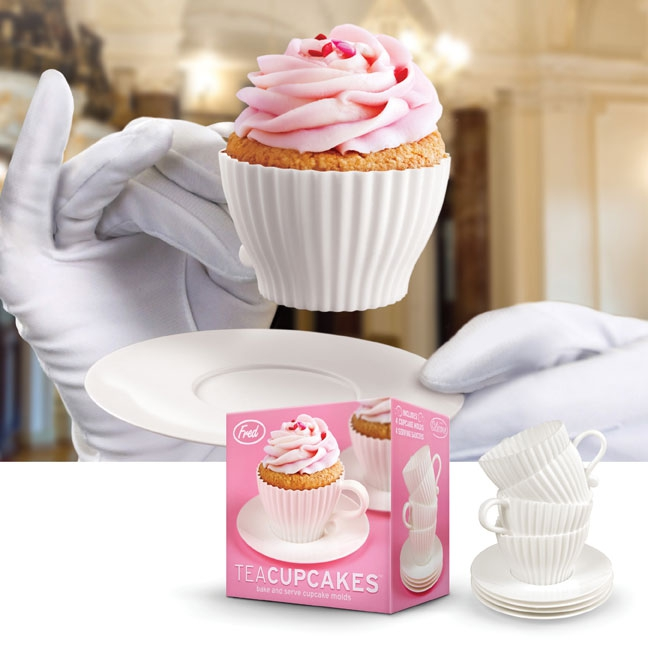 Theekopje voor cupcakes