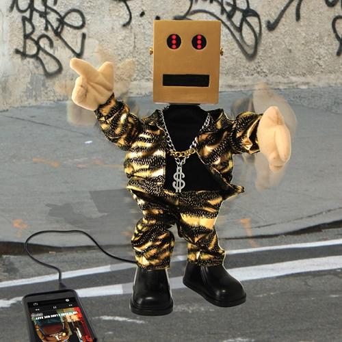 Dansende robot speaker