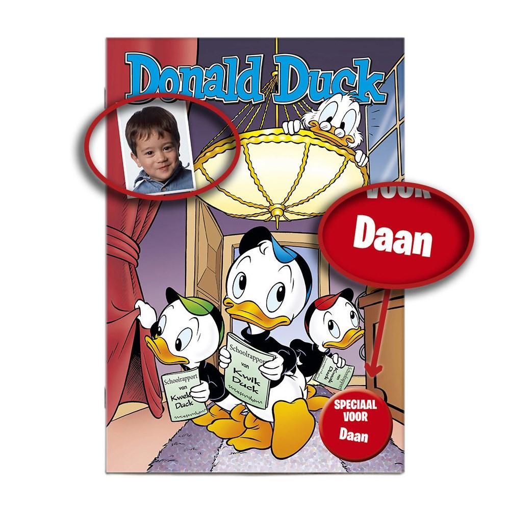 Donald Duck uitgave met eigen naam