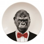 Bord met gorilla opdruk