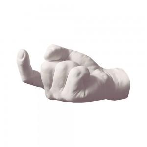 Wandhaak in de vorm van een hand