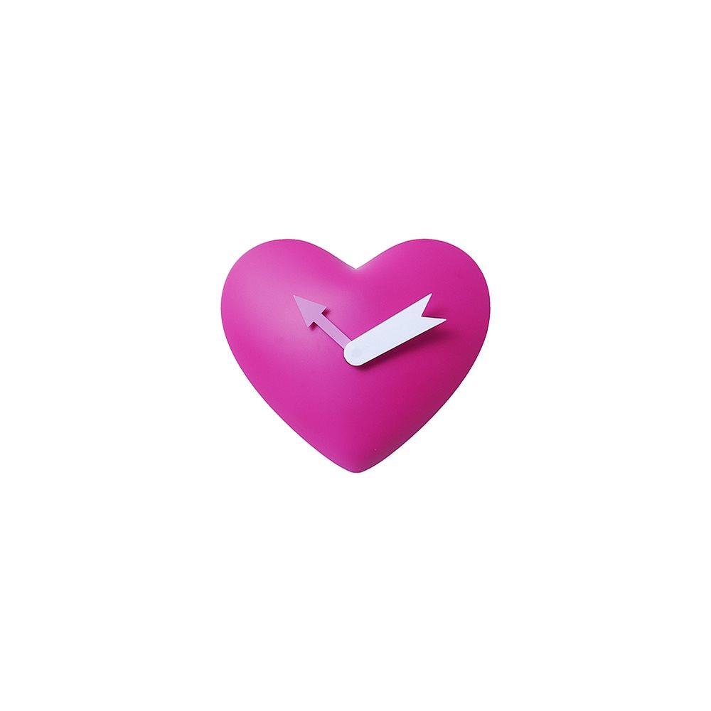 Klok in de vorm van een hart