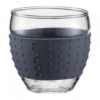 Glas met bescherming tegen hitte en kou