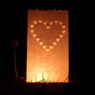 Kaarsen met hart