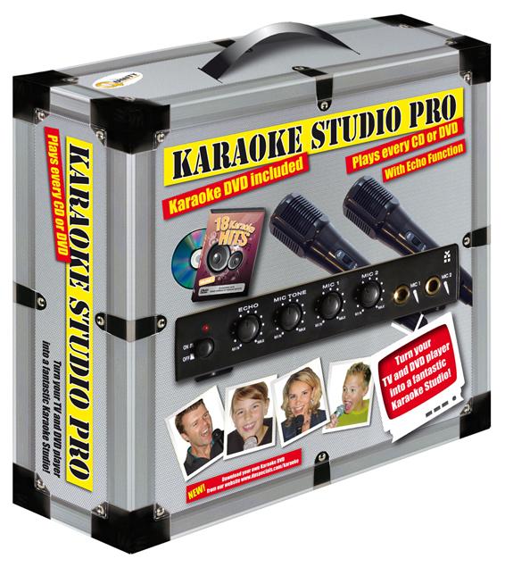 Zingen met een karaoke set