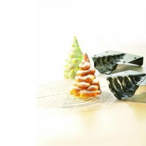 Bakvorm in de vorm van een kerstboom