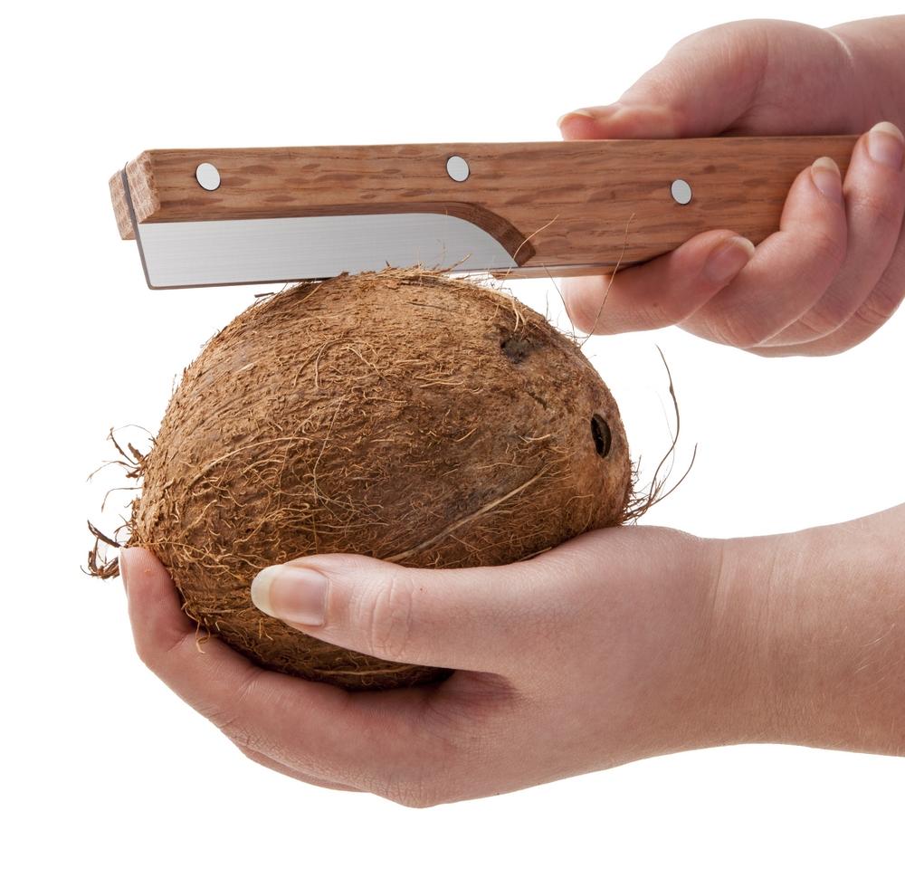 Gemakkelijk kokosnoot kraken