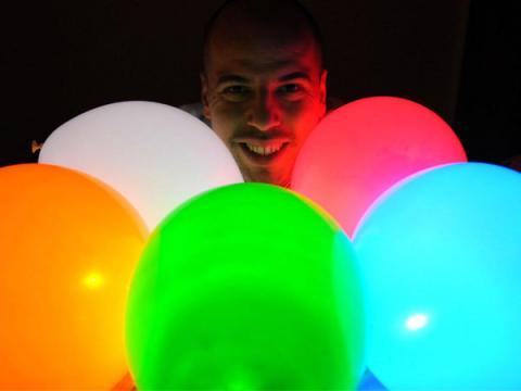 Verlichte ballonnen