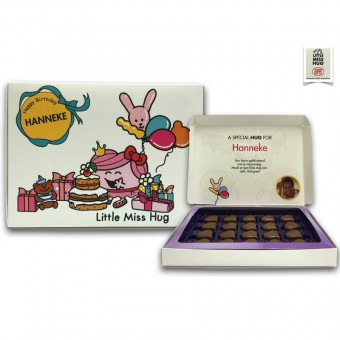 Gepersonaliseerde chocoladebox