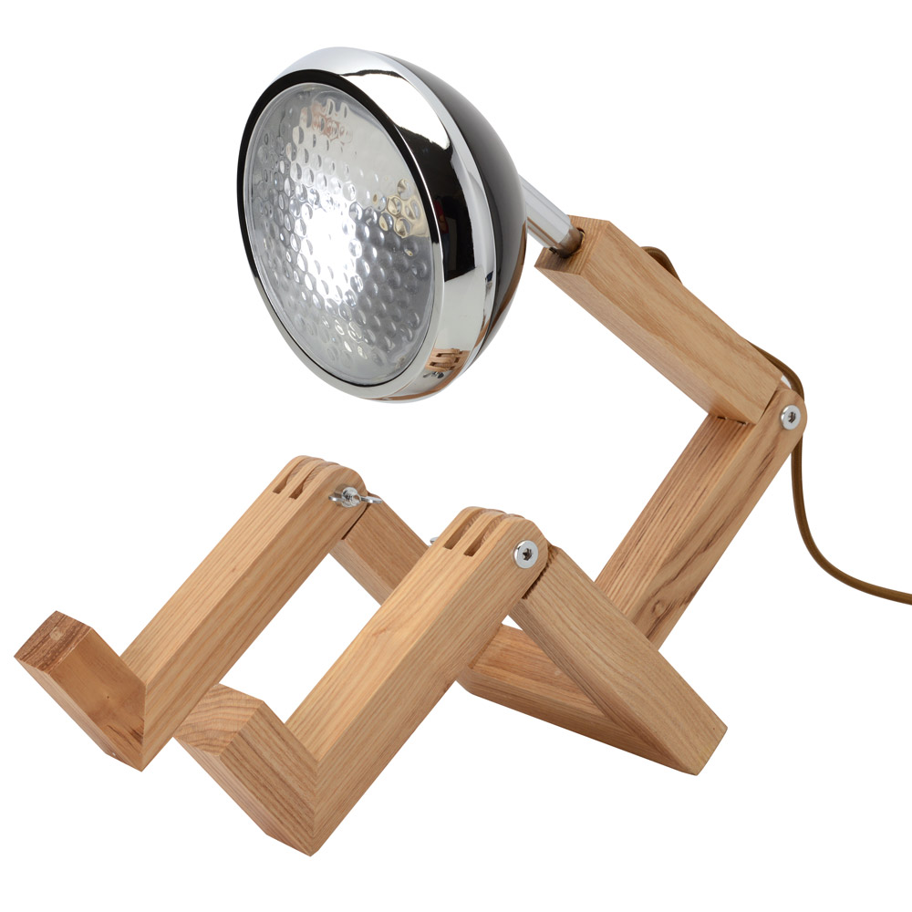 Tafellamp die opzit als een persoon