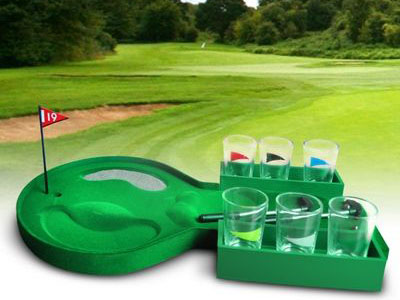 Golfen en drinken