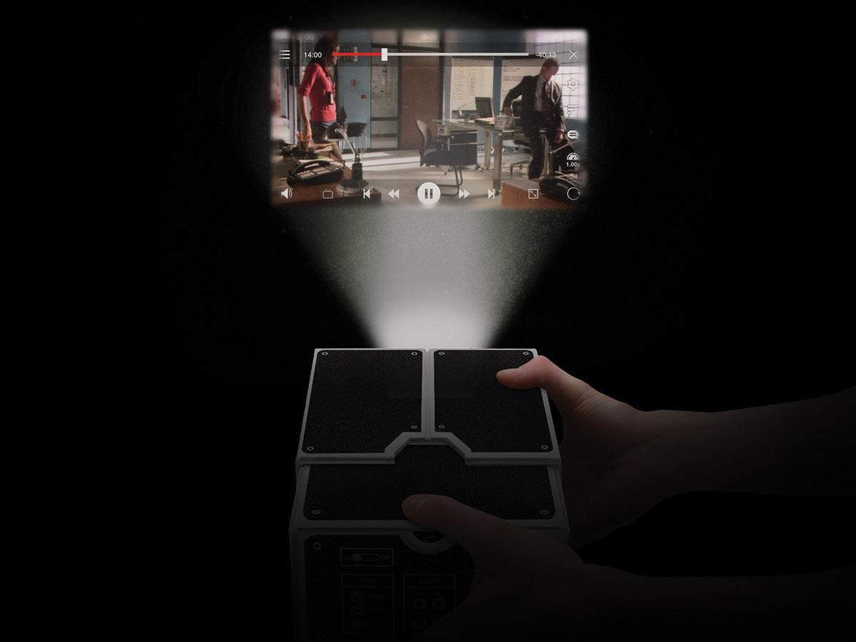 Projector vanuit je mobiel
