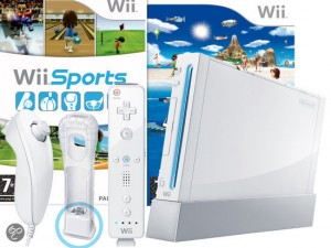 Nintendo WII console en sports resort