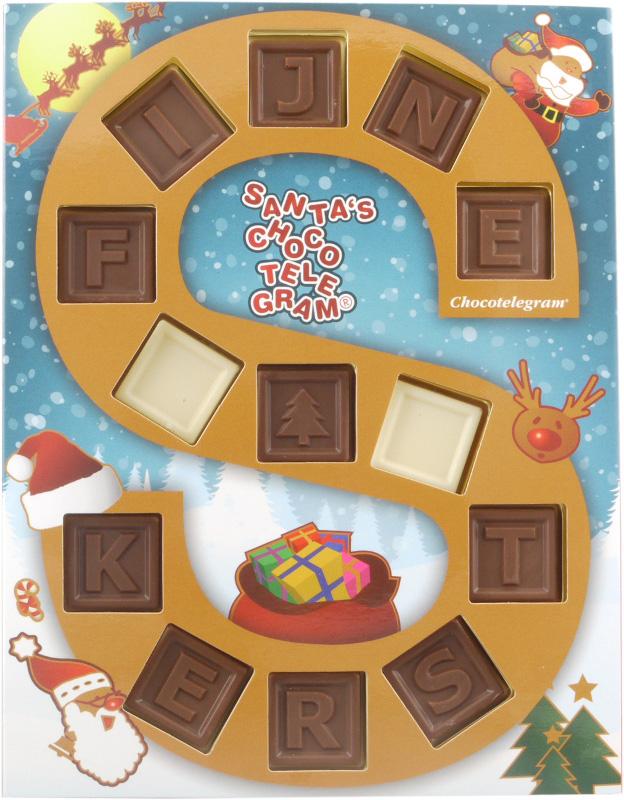 Santa's Chocotelegram