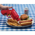 Pistool voor ketchup en mayonaise