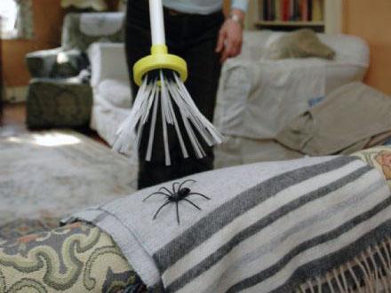 Op afstand spinnen vangen