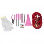 Roze gereedschapsset