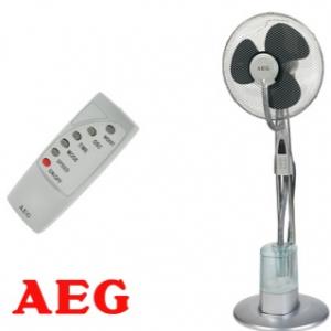 Ventilator met luchtbevochtiger