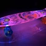 Skateboard met licht
