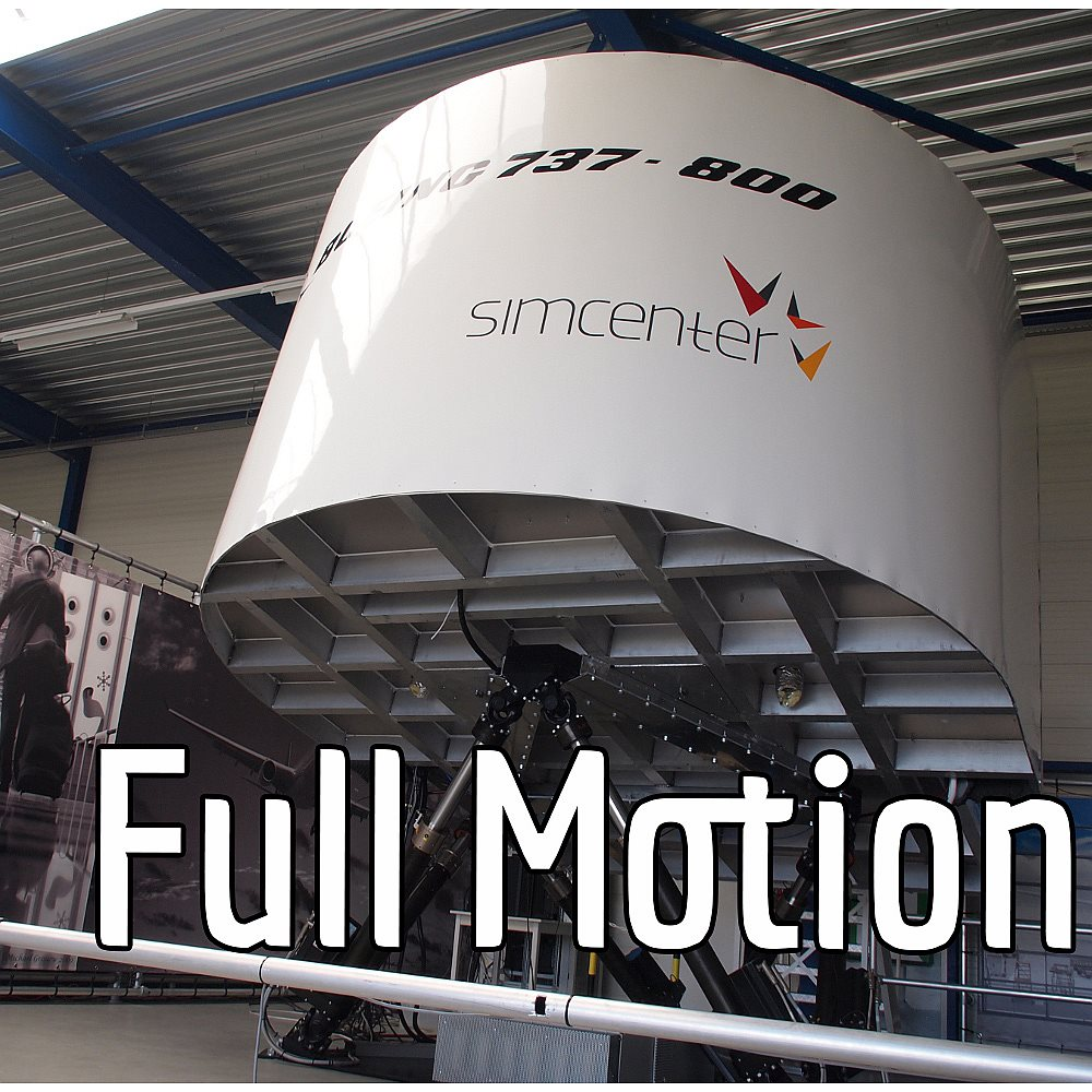 Leuke belevenis met de Full Motion Flight Simulator