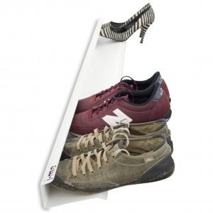 Zwevend schoenenrek