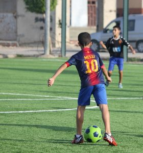 Messi voetbaltenue