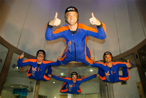indoor skydive