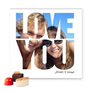 luxe bonbon persoonlijk cadeau your surprise valentijn