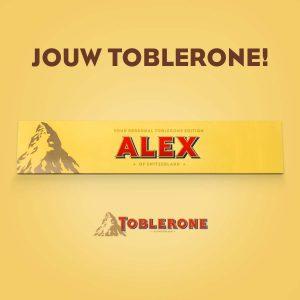 persoonlijke Toblerone