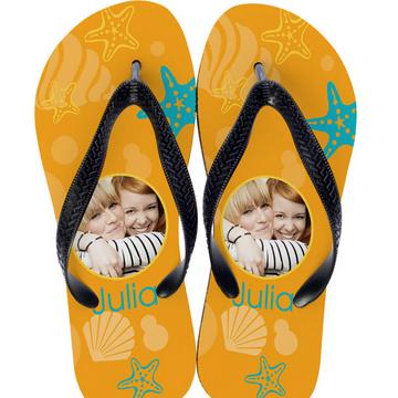 Slippers met foto